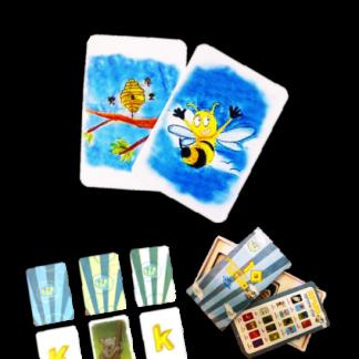 לימוד אנגלית באמצעות משחק קלפים