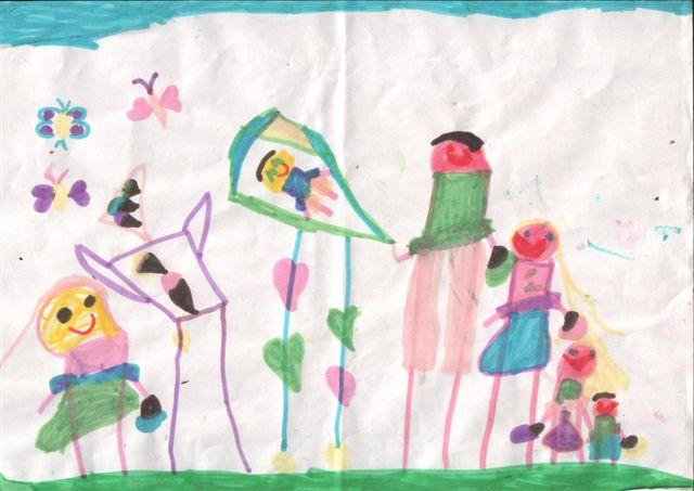 פיענוח ציורי ילדים-מעבר
