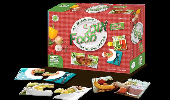 אוכל – משחק מודעות לתזונה בגיל הרך