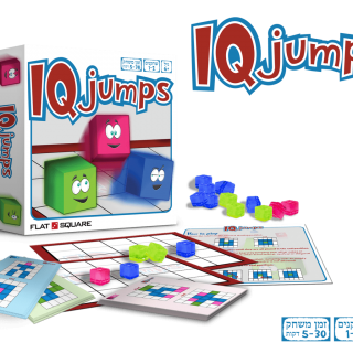משחק חשיבה לכל הגילאים-IQ JUMPS