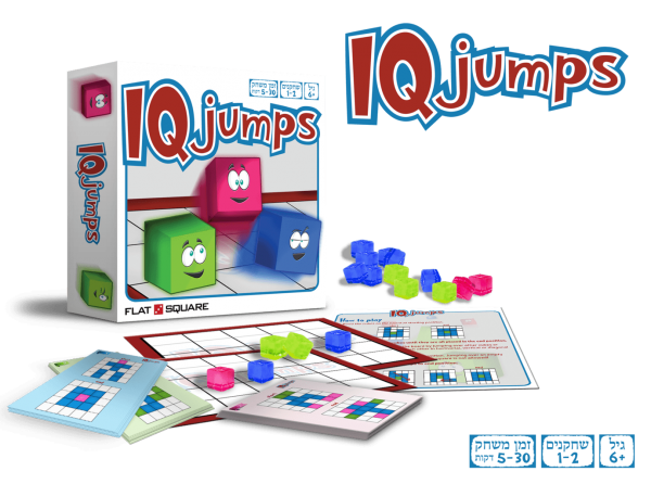 משחק חשיבה לכל הגילאים IQ JUMPS