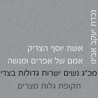 """נשים בתנ""""ך – קלפי מודעות לנשים"""