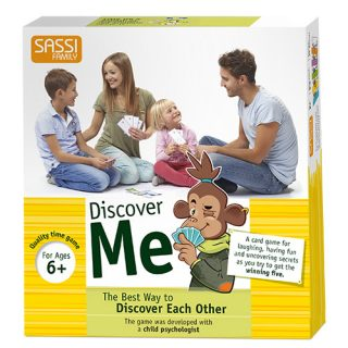 Social and communication games - Discover Me