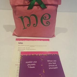 קלפים בערבית לעבודה עם נשים אני Meأنا