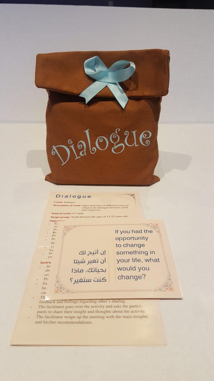 קלפי דיאלוגבערבית DialogueحوارDialogueحوار