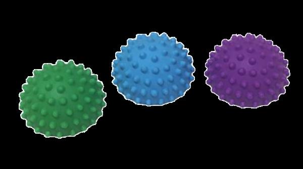 כדור זיזים חצוי לתרגול שיווי משקל