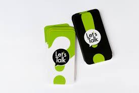 LET'S TALK – משחק שאלות למשפחות ולקבוצות
