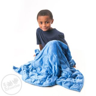 שמיכה כבדה לטיפול ברגישות חושית