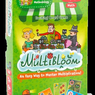מולטי פרח משחק לתרגול לוח הכפל