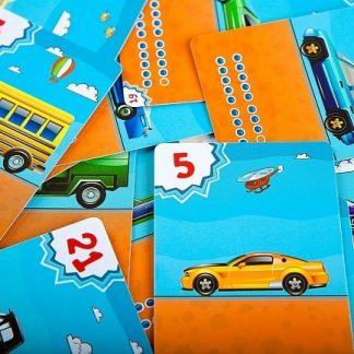 חמישים מכוניות בדרך ללימוד הפרשים בחשבון