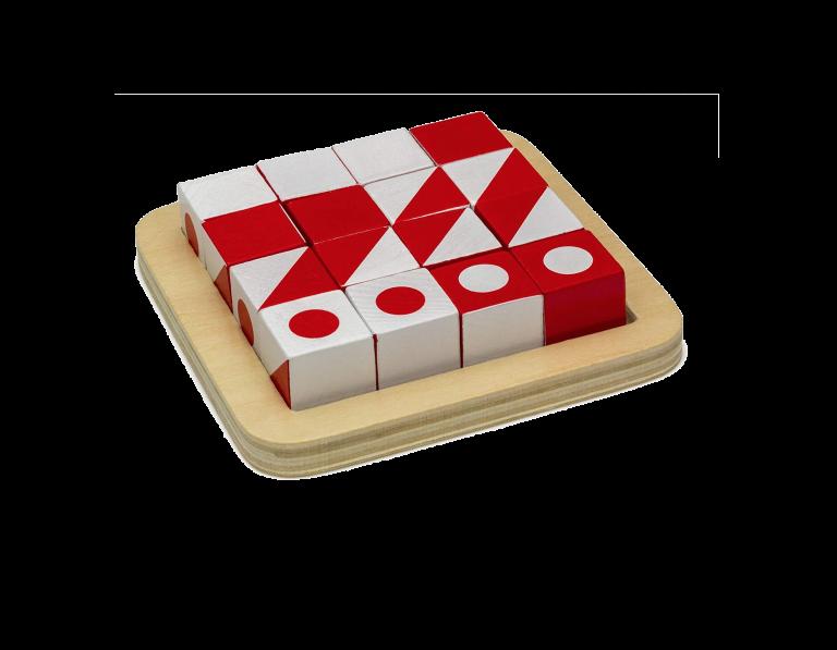 קיוביטס משחק לתרגול תפיסה מרחבית