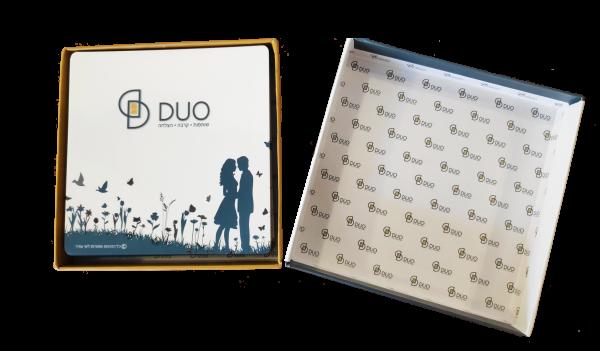 DUO קלפים לזוגות ולזוגיות מקרבת