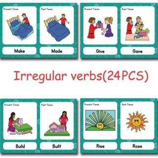 משחק ללימוד פעלים חריגים באנגלית