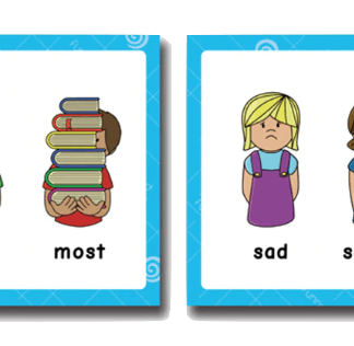 קלפים ללימוד אנגלית
