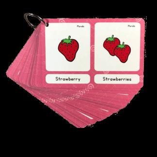 רבים יחיד באנגלית כרטיסיות משחק