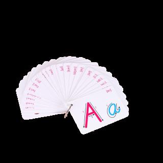 קלפים לתרגול כתיבת אותיות באנגלית