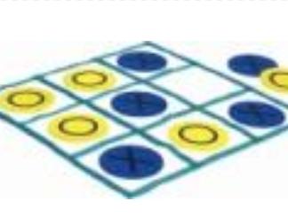 איקס עיגול משחק רצפה ענק