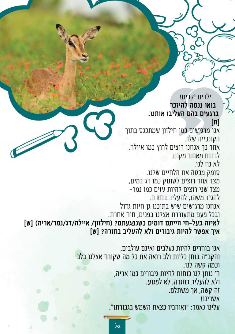 ציור מודרך קלפים טיפוליים לציבור הדתי