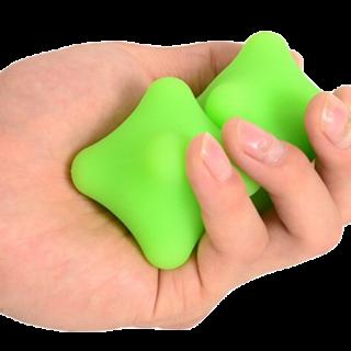 משושה עיסוי לשחרור ושיקום כף היד
