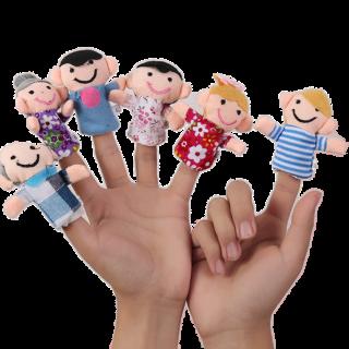 ערכת בובת אצבעות טיפולית