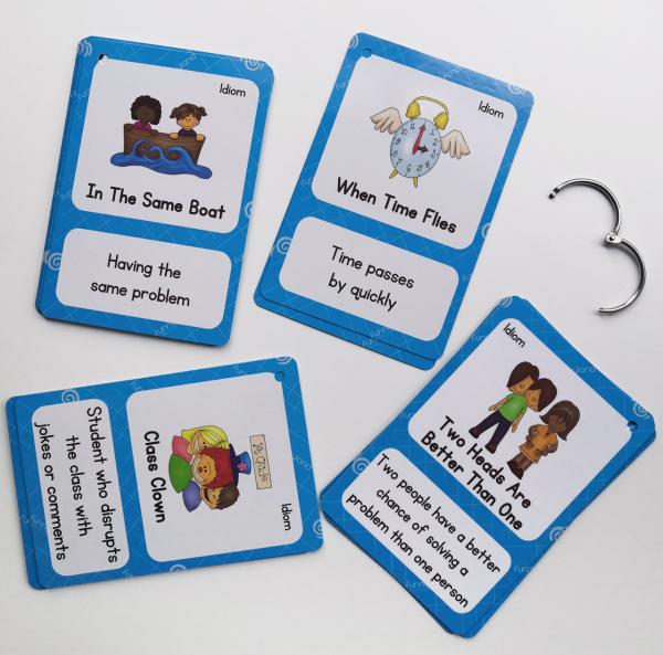 קלפים להרחבת אוצר המילים באנגלית ניבים