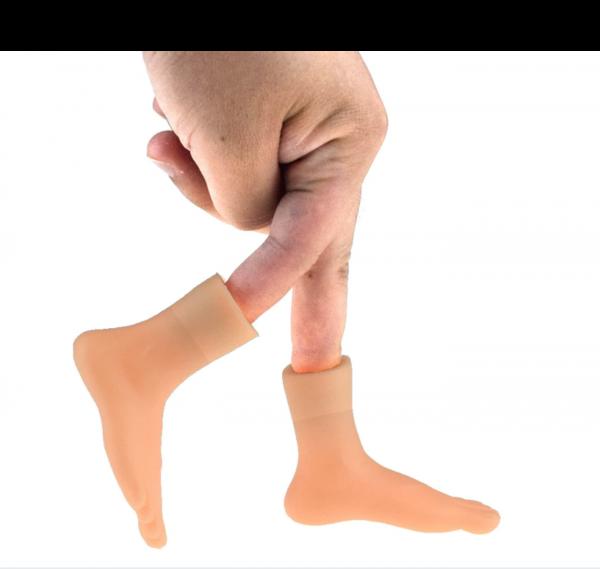 בובת אצבעות כפות ידיים ורגליים