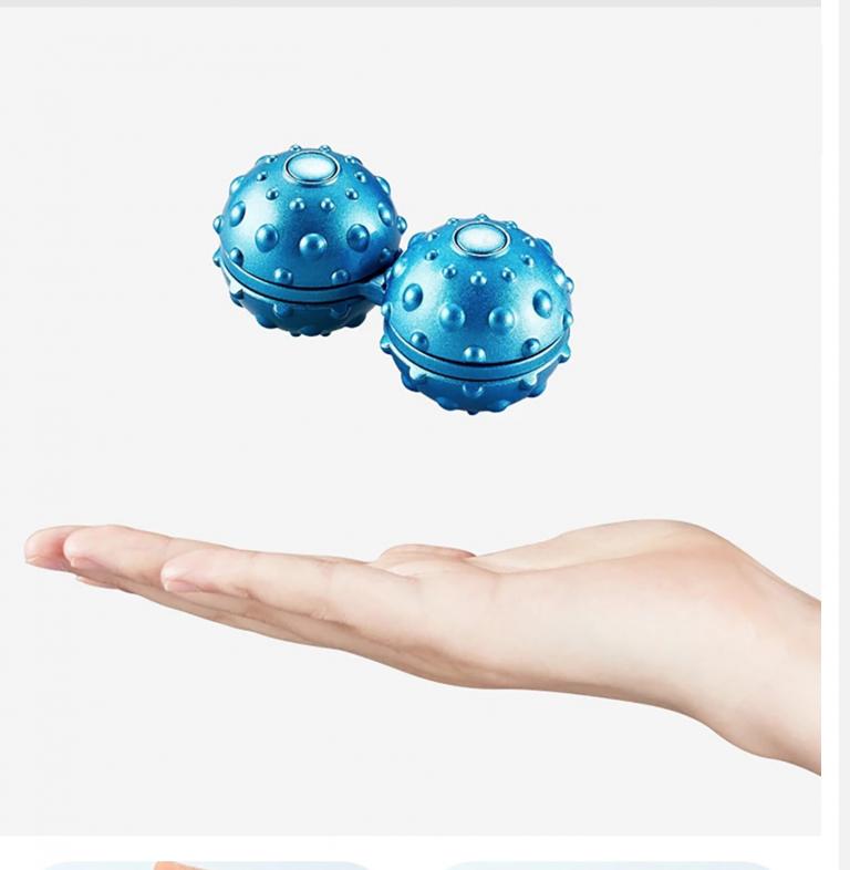 ספינר כדורי שקט לריכוז ושחרור מתח