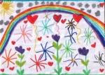 פיענוח ציורי ילדים-שמחה