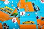 מכוניות בדרך משחק ללימוד הפרשים בחשבון